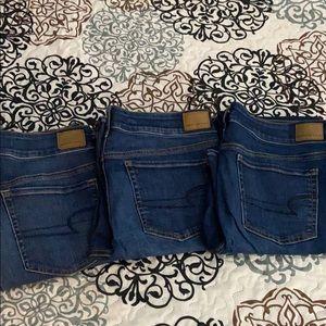American Eagle-Artist Flare Jeans